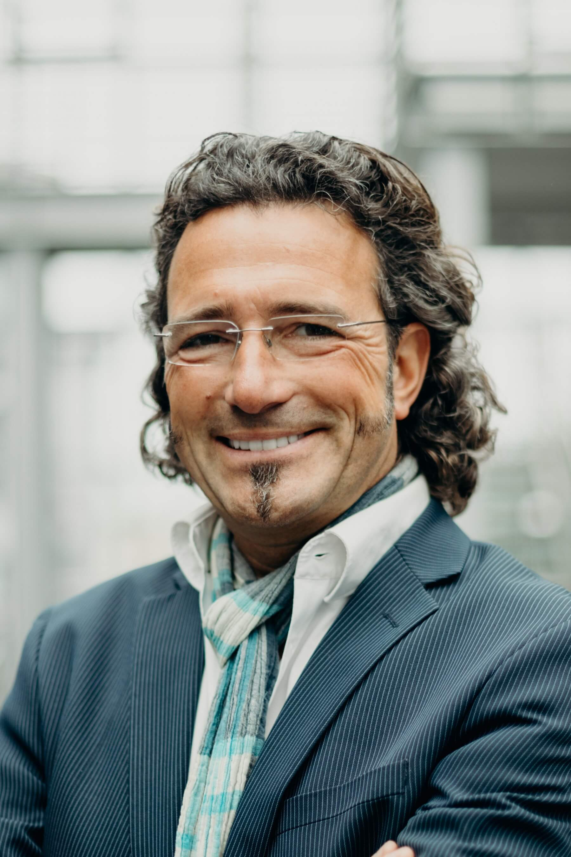 Moderator Thorsten Schaubrenner